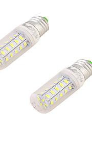 2W E26/E27 LED-kornpærer T 24 SMD 5730 150 lm Varm hvit Dekorativ AC 220-240 V 2 stk.