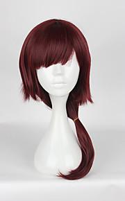Pelucas de Cosplay Cosplay Cosplay Rojo Mediano Animé Pelucas de Cosplay 50cm CM Fibra resistente al calor Mujer