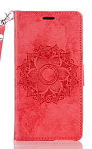 Per A portafoglio Decorazioni in rilievo Custodia Integrale Custodia Fiore decorativo Resistente Similpelle per WikoWiko Lenny 3 Wiko