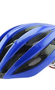 FTIIER One-Piece Road Men and Women Helmet Built-In Keel SkeletonTail LED Warning Light Bicycle Helmet