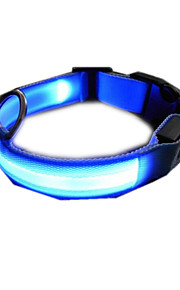 Köpekler Yakalar Elektronik/Elektrik Tek Renk Mavi Naylon