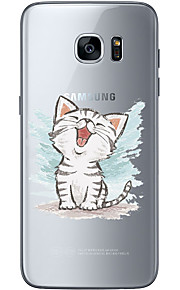 For Samsung Galaxy S6 Edge Plus S6 S7 Edge S7 Happy little kitty Soft Material For Compatibility TPU