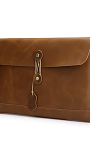 Retro Leather Notebook Bag Laptop Sleeves for MacBook Air 13.3''