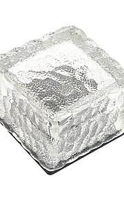 조명 제어 휴일 정원 울타리 조명에 대한 mlsled 0.5W IP65 멀티 컬러 조명 태양 광 전력 크리스탈 얼음 벽돌 조명 다이아몬드 광장 묻혀 램프