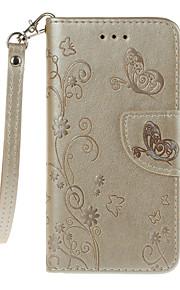 Per A portafoglio Porta-carte di credito Con supporto Con chiusura magnetica Decorazioni in rilievo Fantasia/disegno Custodia Integrale