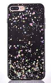 Para Antipolvo Funda Cubierta Trasera Funda Brillante Suave TPU para Apple iPhone 7 Plus iPhone 7 iPhone 6s Plus/6 Plus iPhone 6s/6