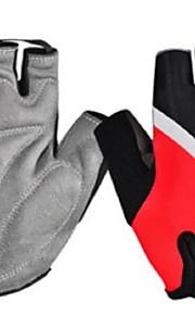 BODUN /SIDEBIKE® スポーツグローブ フリーサイズ サイクルグローブ 春 夏 秋 冬 サイクルグローブ 耐摩耗性 耐久性 反射材 保護 フィンガーレス ライクラ サイクルグローブ イエロー グリーン レッド サイクリング