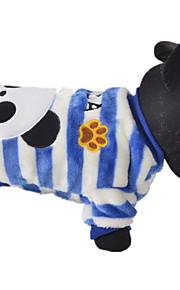 כלבים סוודרים Red כחול בגדים לכלבים חורף קיץ/אביב חיה חמוד יום יומי\קז'ואל