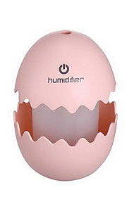 Egg Shape Humidifier Rechargeable Color-changing with Touch Switch Night light