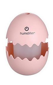 달걀 모양의 가습기 충전식 터치 스위치의 야간 조명과 색상 변화