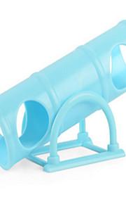 설치류 운동 휠 플라스틱 블루