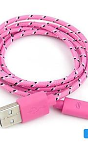 Micro-USB 2.0 Intrecciato PVC Cavi 100cm