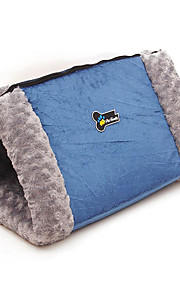Cat Dog Bed Pet Blankets Breathable Blue Cotton
