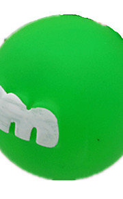 Brinquedo Para Cachorro Brinquedos para Animais Interativo Elástico Laranja Borracha