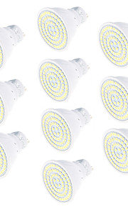 5W GU10 LED-spotpærer 80 SMD 2835 450 lm Varm hvit Kjølig hvit Dekorativ AC220 V 10 stk.