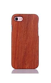 För Stötsäker Läderplastik fodral Skal fodral Enfärgat Hårt Trä för AppleiPhone 7 Plus iPhone 7 iPhone 6s Plus/6 Plus iPhone 6s/6 iPhone