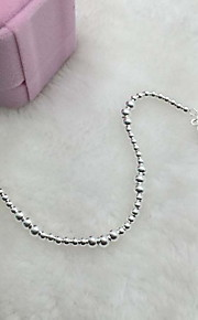 Bracelet Chain Bracelet Sterling Silver Flower Fashion Gift Jewelry Gift Silver1pc