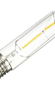 2W E26/E27 Lâmpadas de Filamento de LED Tubo 2 SMD 5730 200 lm Branco Quente Decorativa AC 220-240 V 1 pç