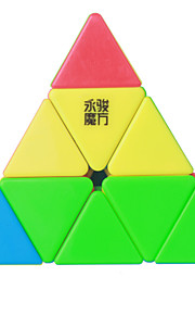 Pyramid Shaped 3*3*3  Smooth Speed Magic Cube Color