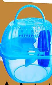 Nagetiere Käfige Plastik Grün Blau Rosa Gelb
