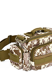 15 L Shoulder Bag Camping & Hiking Outdoor Practise Multifunctional Black Brown Army Green Camouflage Oxford