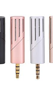 NO Com Fios Microfone de Karaoke 3.5mm Preto Rosa Prateado Dourado