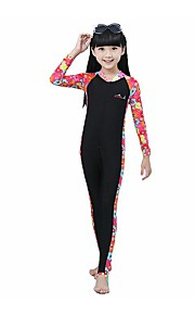 BlueDive® Kid's Sun Protection Clothing Wetsuits Wetsuit Skin Swimwear Diving Suits Diving SuitQuick Dry Ultraviolet Resistant Front