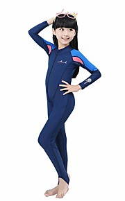 BlueDive® Kid's Rash guard Wetsuit Skin Swimwear Diving Suit Breathable Quick Dry Ultraviolet Resistant Front Zipper YKK Zipper Sunscreen