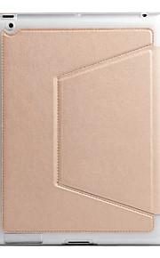Per Porta-carte di credito Resistente agli urti A calamita Custodia Integrale Custodia Tinta unita Morbido TPU per Apple iPad 4/3/2