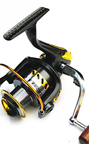Fishing Reel Spinning Reels 2.6:1 1 Ball Bearings Exchangable General Fishing-LF2000-7000