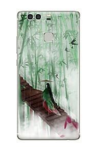 Für Muster Hülle Rückseitenabdeckung Hülle Other Weich TPU für Huawei Huawei P9 Huawei P9 Lite Huawei P9 plus Huawei P8 Huawei P8 Lite