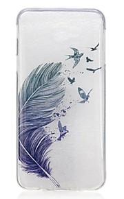 Voor Ultradun Patroon hoesje Achterkantje hoesje Veer Zacht TPU voor Samsung J7 Prime J5 Prime J3 Pro