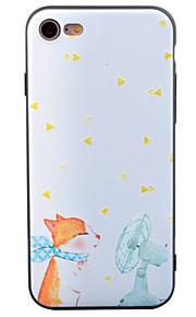 Pour Motif Coque Coque Arrière Coque Chat Flexible PUT pour Apple iPhone 7 Plus iPhone 7 iPhone 6s Plus iPhone 6 Plus iPhone 6s iphone 6
