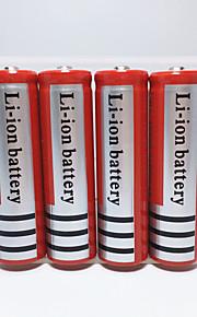 Iluminação Baterias Capa para Bateria Lumens Modo 18650.0 Recarregável EmergênciaCampismo / Escursão / Espeleologismo Uso Diário Polícia