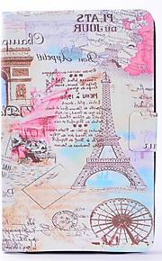 Per Porta-carte di credito Standby automatico/accendimento automatico Decorazioni in rilievo Custodia Integrale Custodia Torre Eiffel
