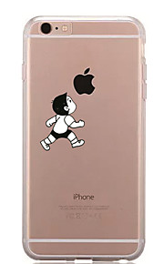 Per Fantasia/disegno Custodia Custodia posteriore Custodia Con logo Apple Morbido TPU per AppleiPhone 7 Plus iPhone 7 iPhone 6s Plus/6