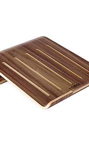 SAMDI Vogue Wooden Laptop Cooling Pad Stand Wood Cooler Holder Bracket Dock Universal for MacBook Air Pro Retina iPad Pro Air