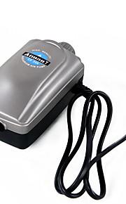 수족관 에어 펌프 조절 가능 플라스틱 AC 220-240V