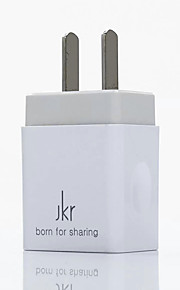 Kannettava laturi iPadille Matkapuhelimelle Tabletille iPhonelle 1 USB-portti US-pistoke