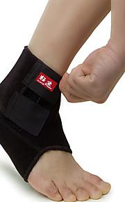 Unisex Ankle Brace Protective Football Sports Elastane Black