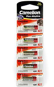 Camelion A27-BP5 Alkaline Battery 12V 5 Pack