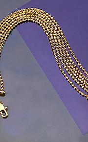 Armbånd Kæde & Lænkearmbånd Plastik Mode Vintage Boheme Stil Bryllup Fest Speciel Lejlighed Fødselsdag Forlovelse Smykker Gave Gylden,1