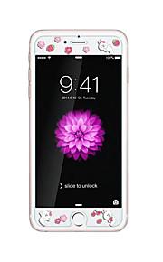 暗いウサギにおけるエンボス漫画のパターン輝きを持つアップルのiPhoneのための6 / 6S 4.7inch強化ガラス透明なフロントスクリーンプロテクター