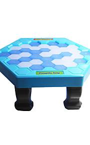 Minsker stress Ferieeffekter Pædagogisk legetøj Legetøj til voksne Legetøj Hobbylegetøj Legetøj Originale Pingvin Plastik Kongeblå