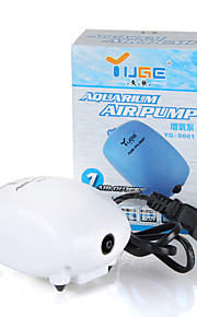 Aquarium Air Pump Energy Saving Noiseless 2.5W 1.8L/min 220V