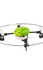 Drone Helic Max 4CH 6 Eixos 2.4G - Quadcópero com CR Iluminação De LED Vôo Invertido 360° Upside-Down Vôo FlutuarQuadcóptero RC Controle