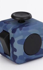 Brinquedos Cubo Macio de Velocidade Cube Fidget Novidades Alivia Estresse Cubos Mágicos Arco-Íris / Plástico