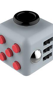 Brinquedos Cubo Macio de Velocidade Cube Fidget Novidades Alivia Estresse Cubos Mágicos Vermelho Cinzento / Plástico