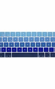 xskn® europeiska spanska gradient silikon tangentbord huden och pekfältet skydd för 2016 nyaste MacBook Pro 13,3 / 15,4 med touch bar