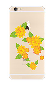 For Beautiful Pattern Flower Soft TPU for Apple iPhone 7 Plus iPhone 7 iPhone 6s Plus 6 Plus iPhone 6s 6 iPhone5 SE 4C iphone 4